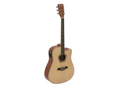 DiMavery DR-520 Western Guitar, Naturur
