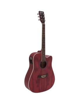 Image of   DiMavery JK-510 Western Guitar, Cutaway, Grained