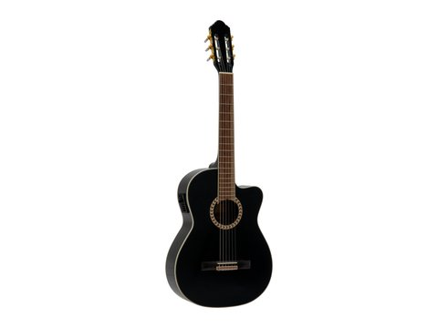 Image of   DiMavery CN-600E Klassisk Guitar, Sort