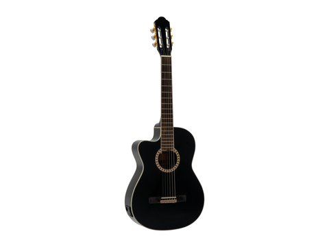 DiMavery CN-600L Klassisk Guitar, Sort
