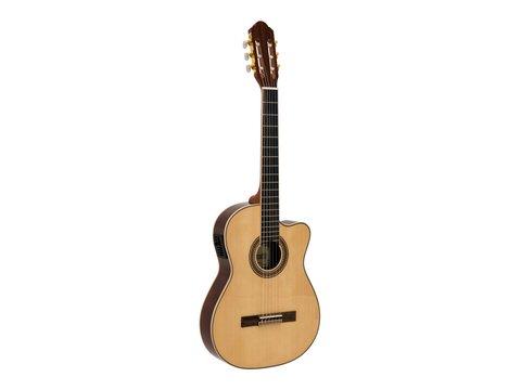 DiMavery TB-100 Klassisk Guitar, Naturur