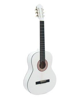DiMavery AC-303 Klassisk Guitar, Hvid