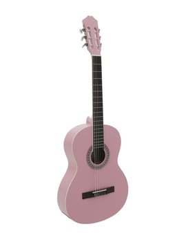 DiMavery AC-303 Klassisk Guitar, Pink