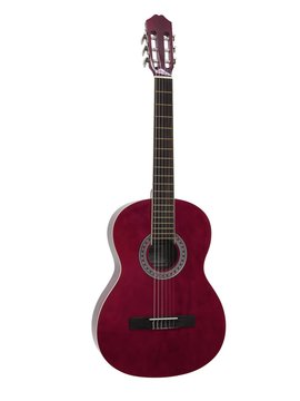 DiMavery AC-303 Klassisk Guitar, Rød