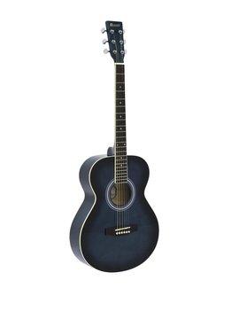 DiMavery AW-303 Western Guitar Blå burst
