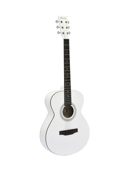 Image of   DiMavery AW-303 Western Guitar - Hvid