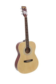 Image of   DiMavery AW-303 Western Guitar - Natur