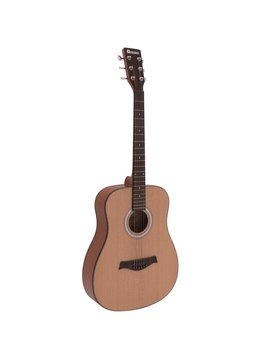 Image of   DiMavery AW-380 Western Guitar - Natur