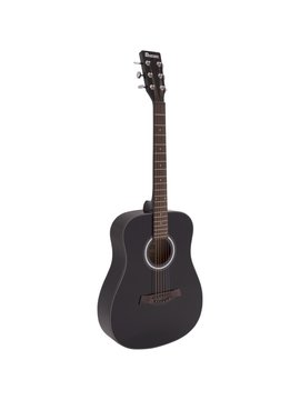 Image of   DiMavery AW-380 Western Guitar, Sort