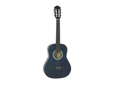 DiMavery AC-303 Klassisk Guitar 3/4, Blå
