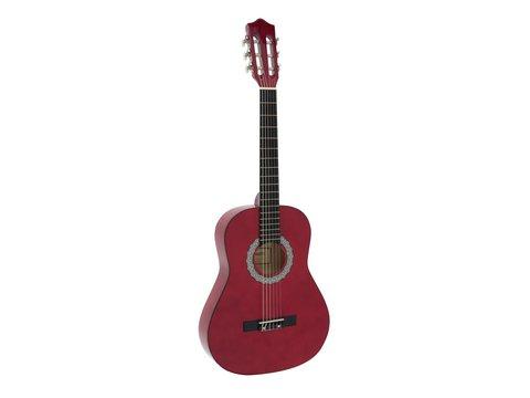 DiMavery AC-303 Klassisk Guitar 3/4, Rød