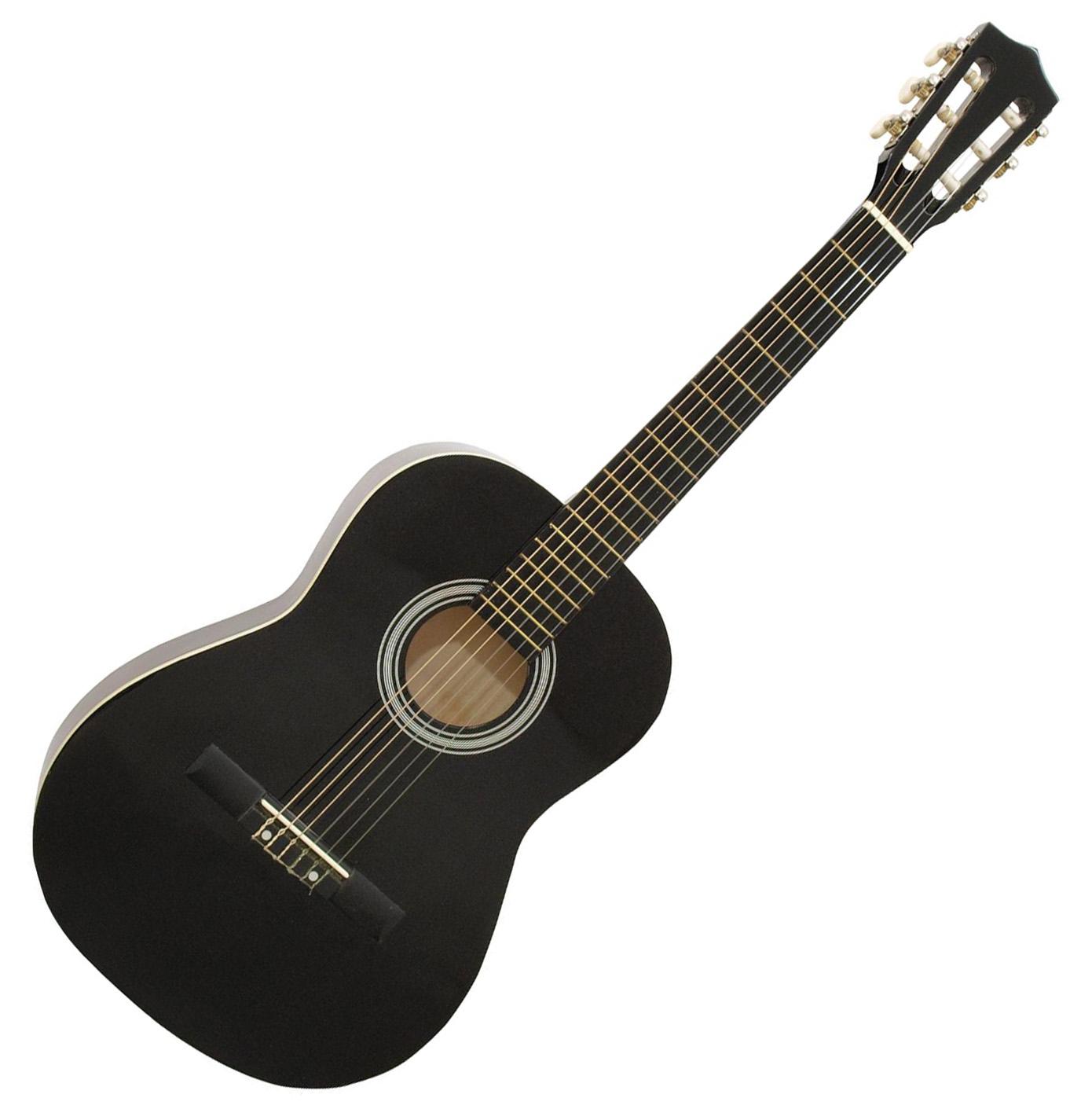 DiMavery AC-303 klassisk spansk guitar 3/4, sort