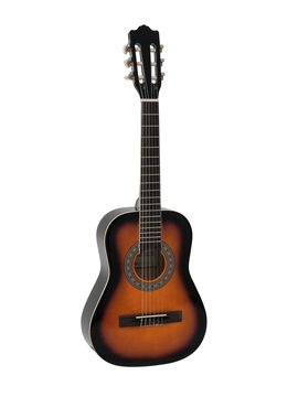 Image of   DiMavery AC-303 Klassisk Guitar 1/2 Sunburst