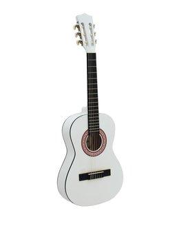 Image of   DiMavery AC-303 Klassisk Guitar 1/2, Hvid