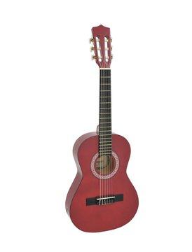 Image of   DiMavery AC-303 Klassisk Guitar 1/2, Rød