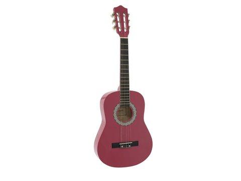 DiMavery AC-303 Klassisk Guitar 1/2, Pink