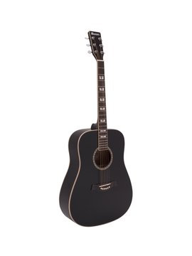 Image of   DiMavery STW-40 Western Guitar, Sort