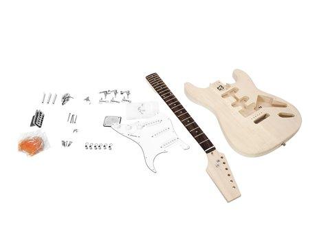 DiMavery DIY ST-20 Guitar byggesæt