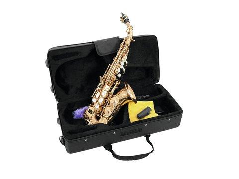 DiMavery SP-20 Bb Soprano Saxofon, Guld