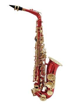 DiMavery SP-30 Eb Alto Saxofon, Rød