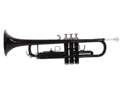 DiMavery TP-10 Bb Trumpet, Sort