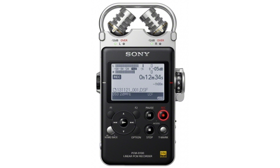 Image of   Sony PCM-D100/1 portable audio recorder