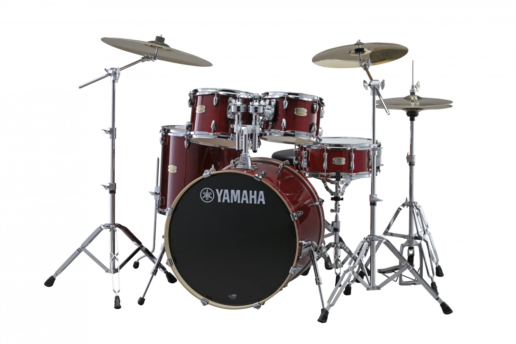 Yamaha Stage Custom Birch Studio Trommesæt Cranberry Red