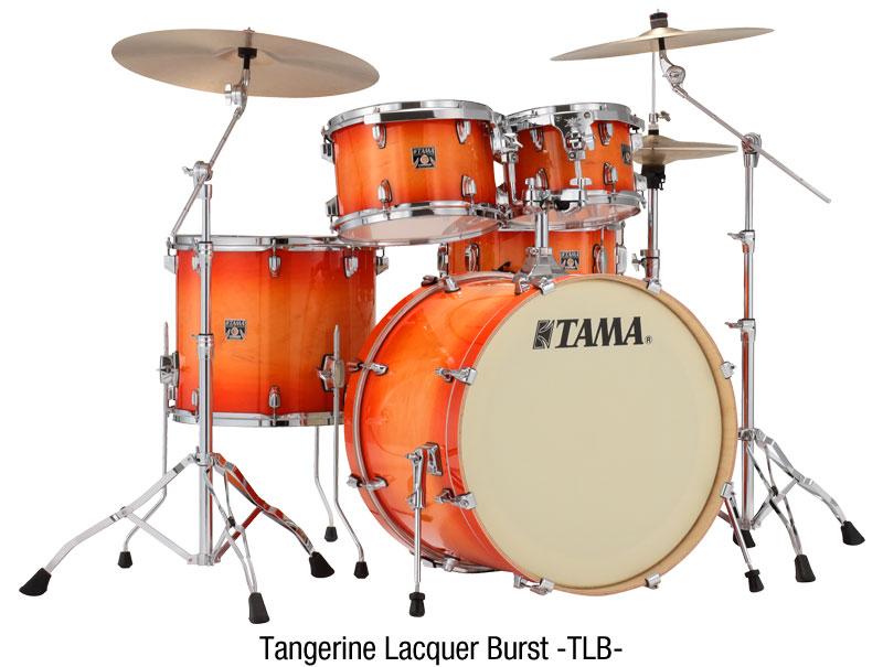 Tama Superstar Classic Trommesæt - Tangerine Lacquer Burst