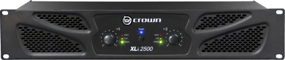 Crown XLi2500 Forstærker 2 x 500 Watt 8 Ohm