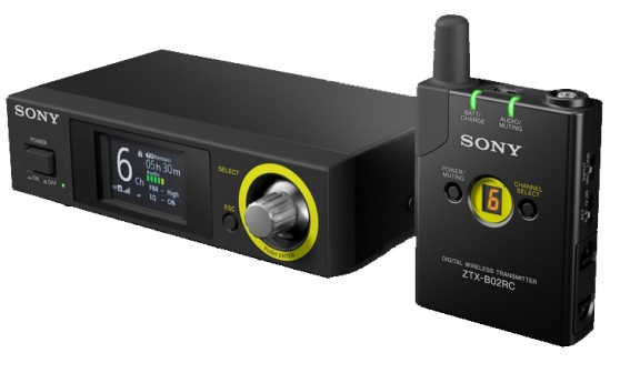 Image of   Sony DWZ-B70HL/EU digital wireless presenter pack