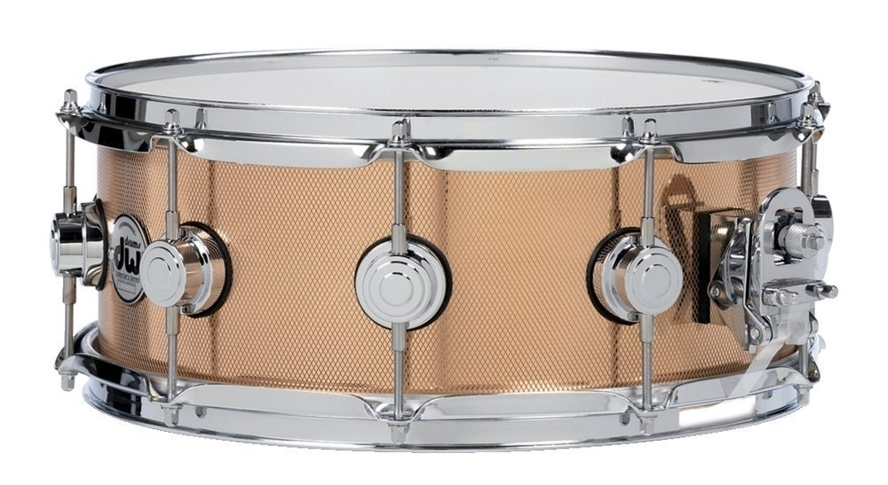 "DW 14x6,5"" Snare - Collectors Bronze."