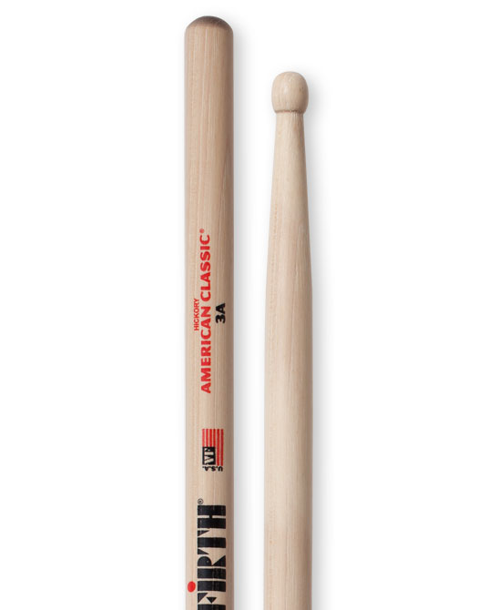 Image of   Vic Firth 3A trommestikker
