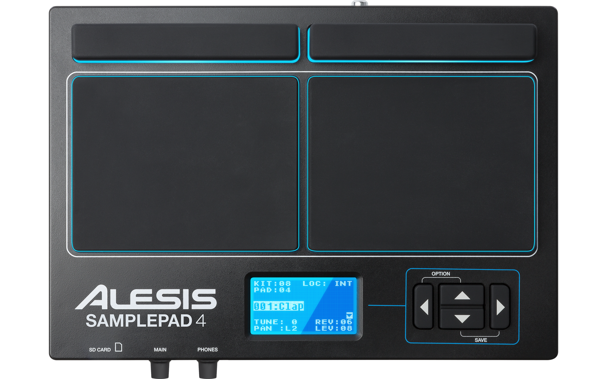 Image of   Alesis SamplePad 4