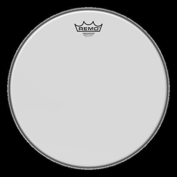 "Remo Trommeskind 18"" Ambassador Smooth White"
