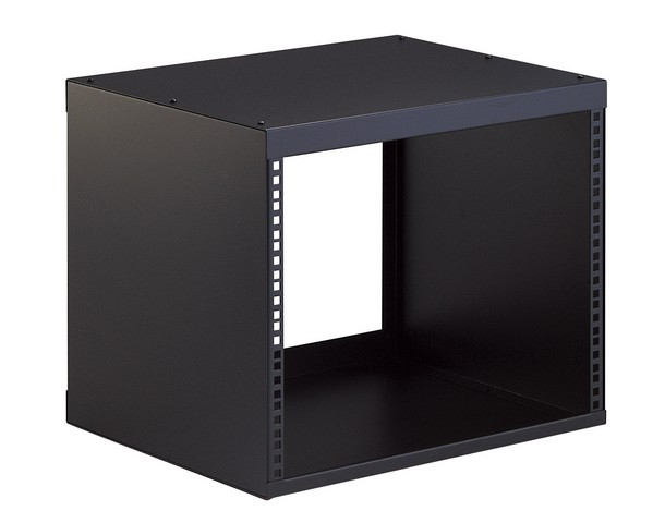 Image of   K&M Rack 430 mm dyb, 8U, Sort