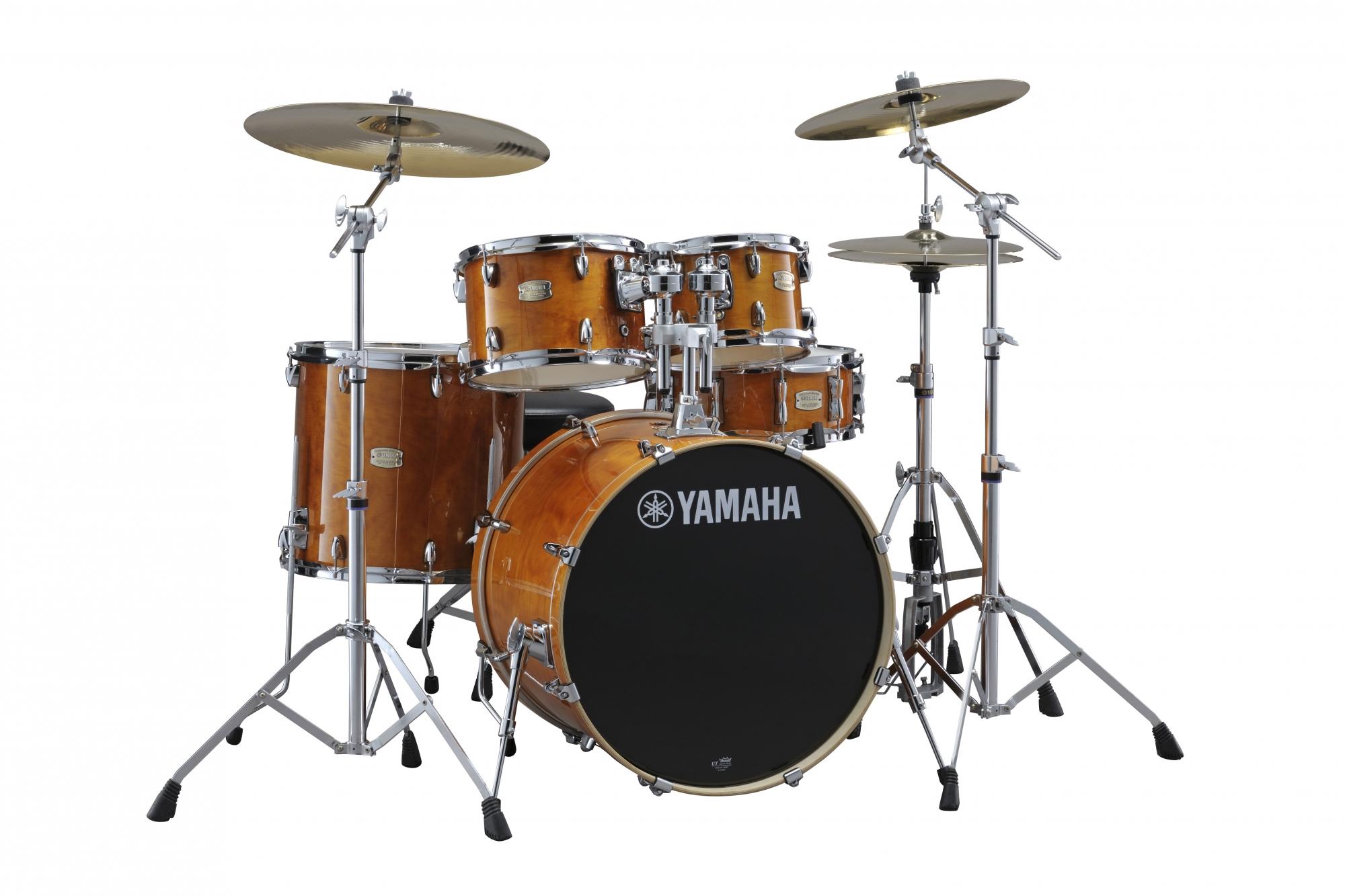 Yamaha Stage Custom Birch Studio Trommesæt Honey Amber