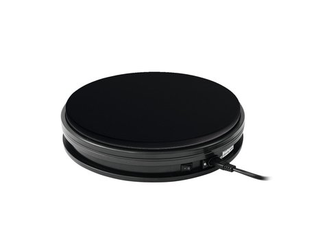 Rotary Plate 25cm up to 25kg black
