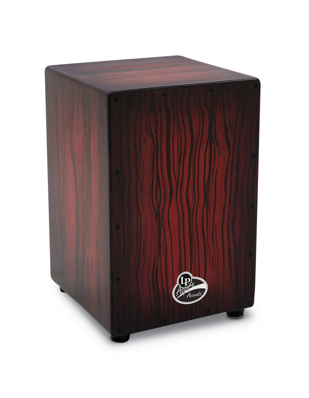 Image of   LP Aspire Accents Dark Wood Streak Cajon