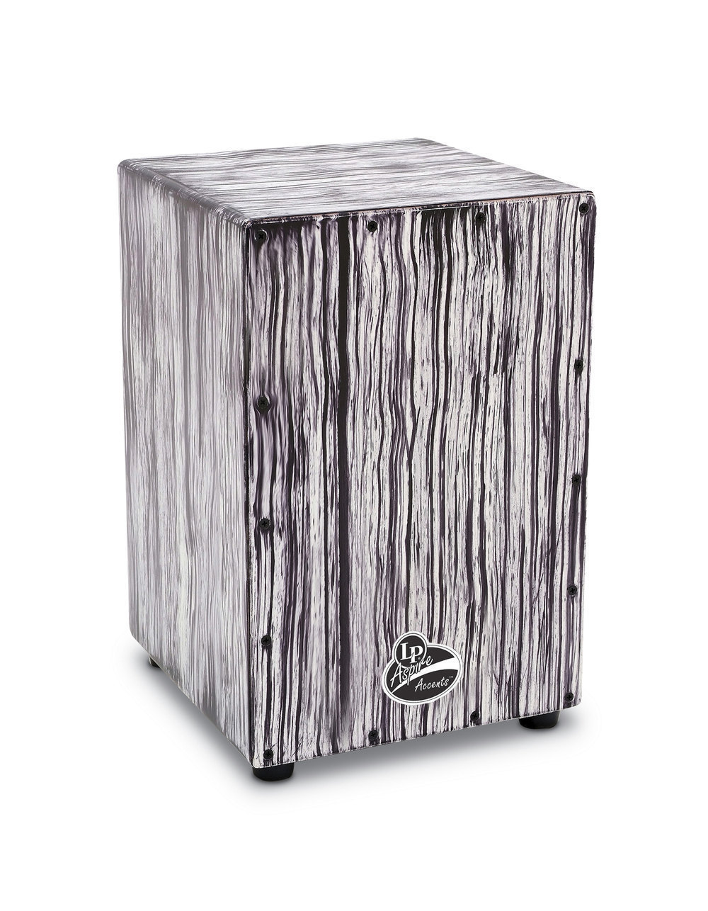 Image of   LP Aspire Accents White Streak Cajon