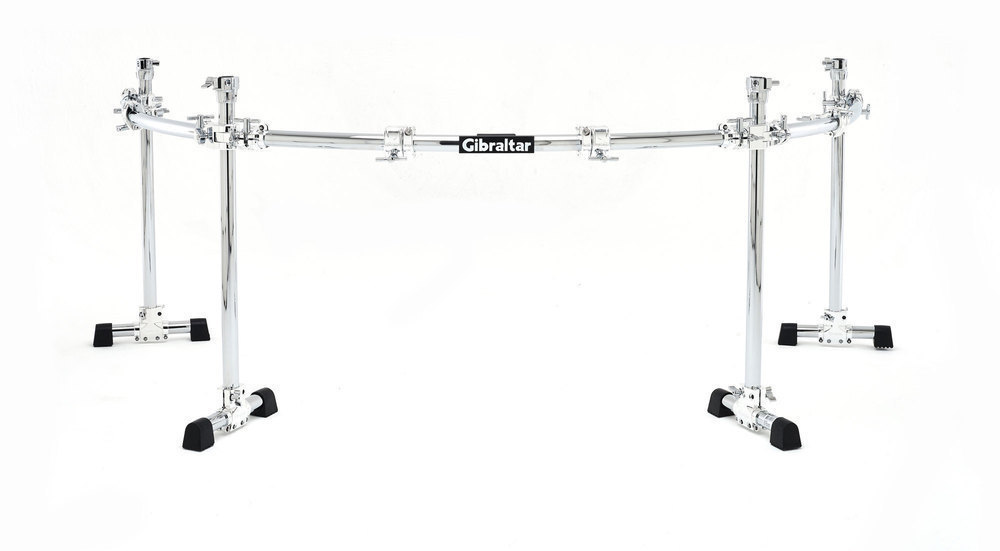 Image of   Gibraltar GCS-450C Rack System Chrome Series 4-pole curved Rack