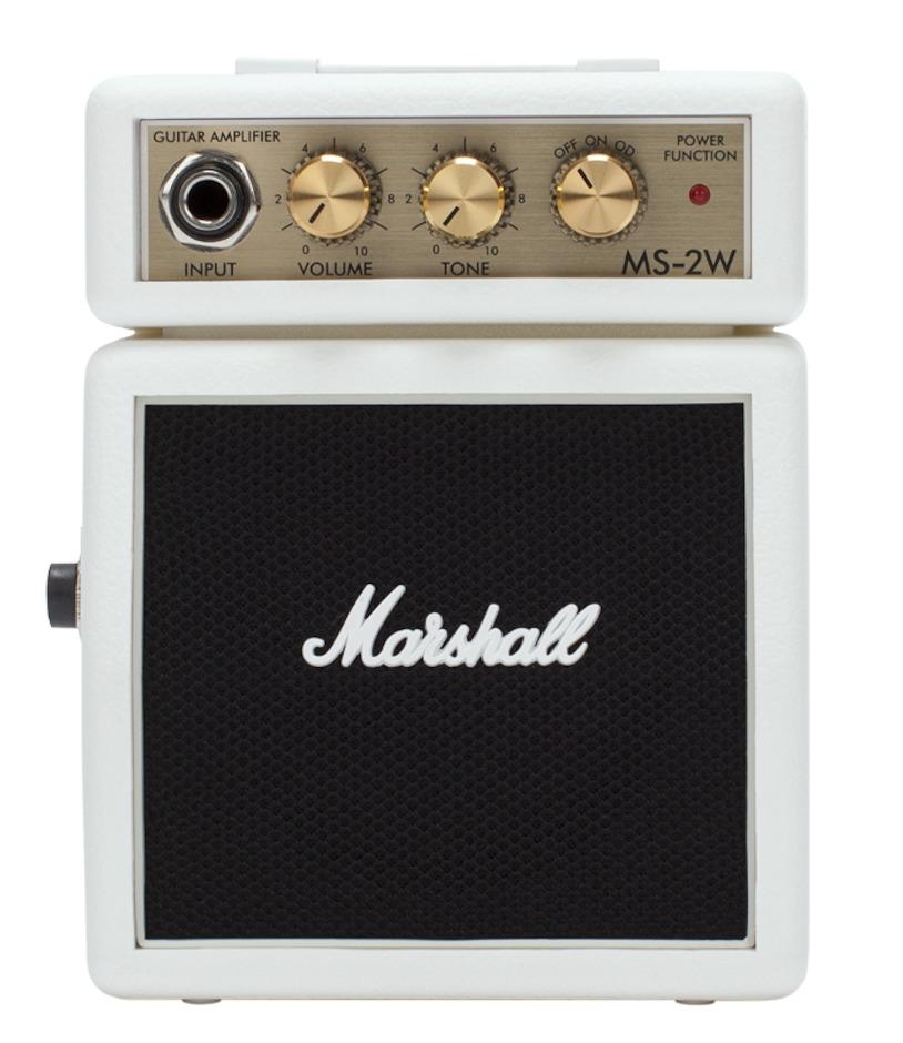 Image of   Marshall MS2W Guitarforstærker Hvid