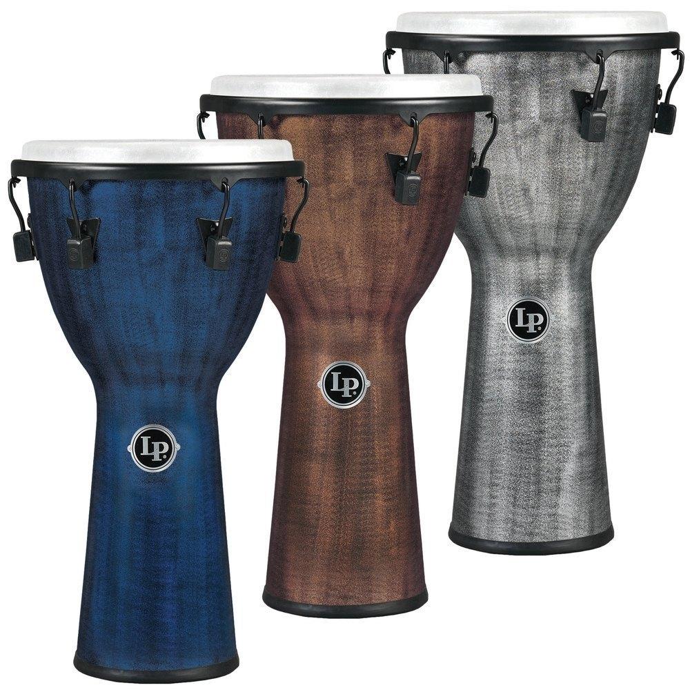 Image of   Djembe World Beat FX Mechanically Tuned Blue