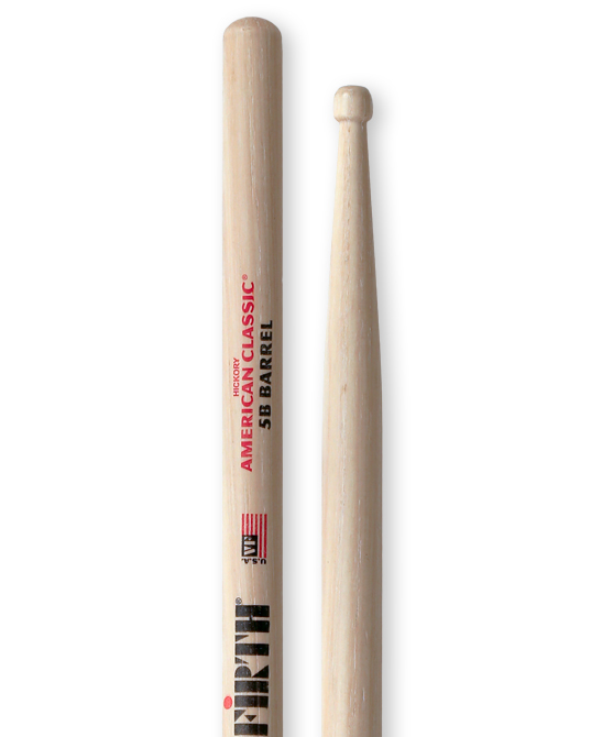 Vic Firth 5B Barrel Tip trommestikker