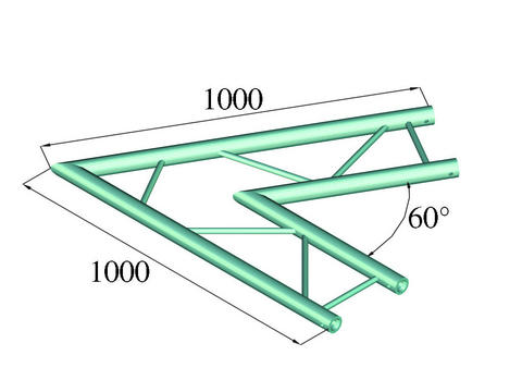 Image of   Alutruss BILOCK BQ2-PAC20H 2-way corner 60°