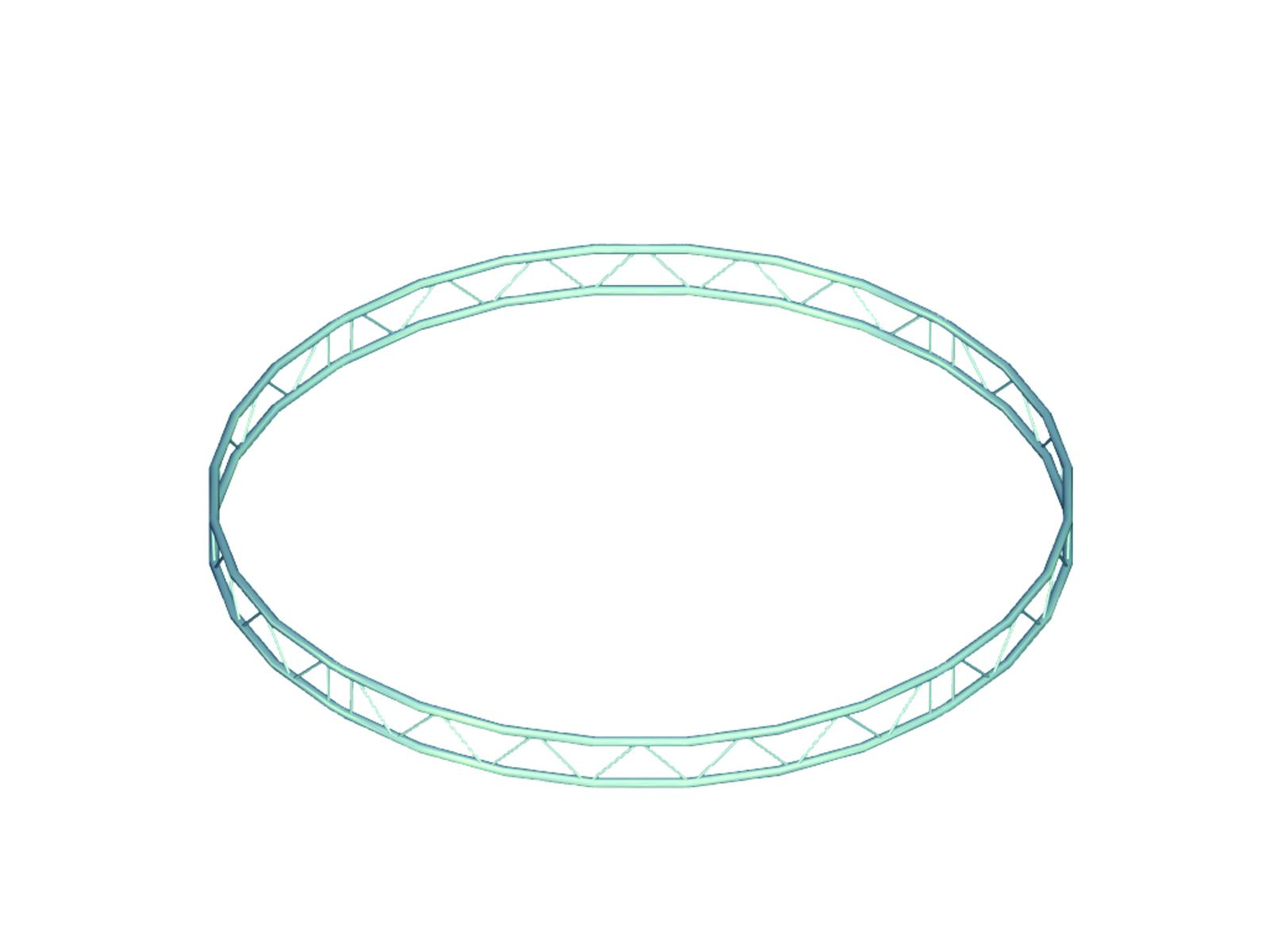 Alutruss BILOCK circle d=4m (inside) vertical