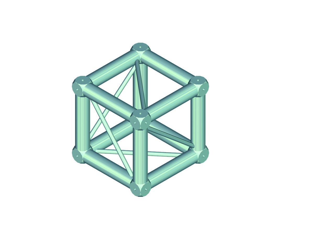 Alutruss DECOLOCK DQ4 universal cross piece