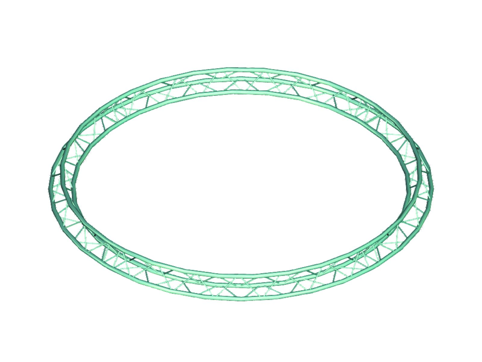 Alutruss TRILOCK 6082 circle d=8m (inside) /\