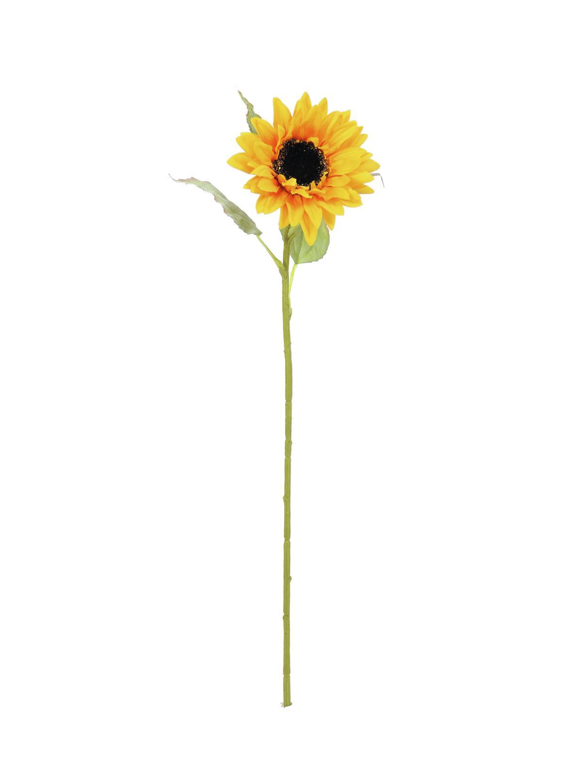 Image of   Kunstig Solsikke 70cm