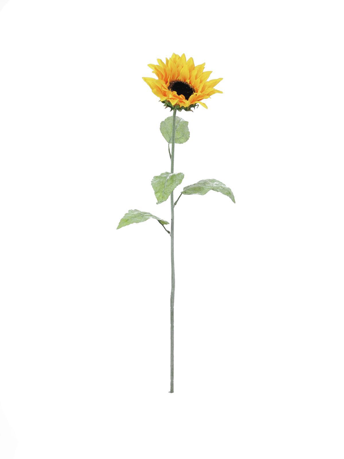 Image of   Kunstig Solsikke 110cm