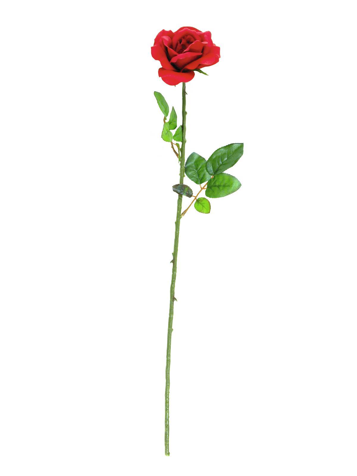 Image of   Kunstig Rose, Rød